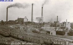Industrial Revolution    Yorkshire, Dinnington Colliery in its heyday