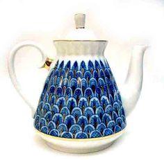"Lomonosov ""Forget-me-not"" Teapot"