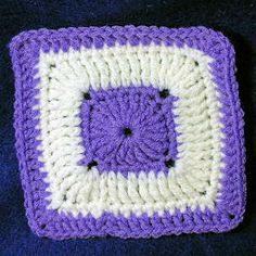 crochet granny squares for beginners | FREE CROCHET SQUARE PATTERN | Crochet and Knitting Patterns