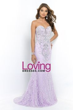 2015 Sweetheart Column Lace Prom Dresses With Beads Sweep Train