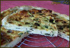 Quiche poireau - camembert (Quiche Leek - camembert)