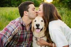 Walk the dog   engagement shoot date    (Bobbi+Mike)