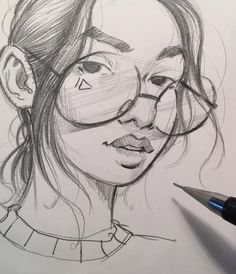 Pencil Portrait Mastery - @ericanthonyj #PencilSketches #Pencils #FashionIllustrations| Be Inspirational ❥|Mz. Manerz: Being well dressed is a beautiful form of confidence, happiness & politeness - Discover The Secrets Of Drawing Realistic Pencil Portraits