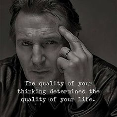 Positive Quotes : The quality of your thinking determine the quality of your life. Positive Quotes : The quality of your thinking determine the quality of your life. Joker Quotes, Wise Quotes, Quotable Quotes, Attitude Quotes, Great Quotes, Words Quotes, Quotes Images, Sayings, Deep Quotes