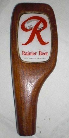 beer tap handle old western six shooter rainier