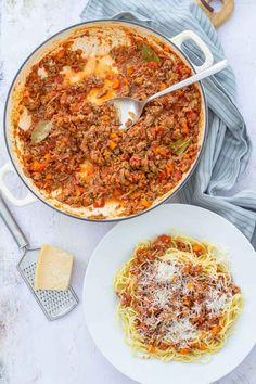 A tasty twist on a family classic, this Easy Lamb Bolognese can be made with lamb mince or leftover roast lamb for a speedy midweek dinner. Lamb Casserole Recipes, Lamb Recipes, Pasta Recipes, Leftover Roast Lamb, Lamb Pasta, Bolognese Recipe, Lamb Dishes, Dinner For Two, Meal Prep