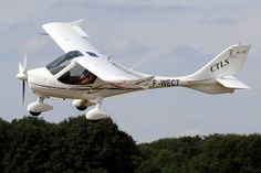F-WECT Flight Design CTLS by Johan Hetebrij Light Sport Aircraft, Military Humor, Airplanes, Military Vehicles, Aviation, Interesting Stuff, Wings, Design, Planes
