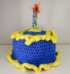 Birthday Cake Hat for First Birthday