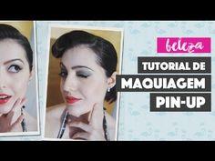 Tutorial de Maquiagem Pin-Up (Pin-Up Makeup Tutorial)