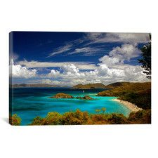'Trunk Bay' by J.D. McFarlan Photographic Print on Canvas