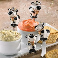 Moo Spreaders... these are precious!
