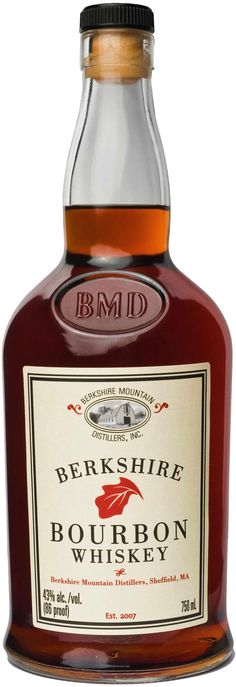 Brought to proof with legendary spring waters from a hot spring near the Berkshire Mountains, this bourbon is aged in virgin American white oak casks. Berkshire Mountain Bourbon Whiskey | @Caskers