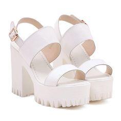 platform heels| $28.69  pastel grunge neogal pastel goth nu goth gyaru fachin heels platforms shoes under30 free shipping rosegal