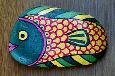 Artesanias Yibi: piedras pintadas