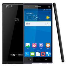[$278.00] ZTE Star 1 16GB Black, 5.0 inch 4G Android 4.4 IPS Screen Smart Phone, Qualcomm Snapdragon MSM8928 Quad Core 1.6GHz, RAM: 2GB, FDD-LTE & TD-LTE & WCDMA & GSM(Black)