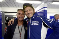 Mick Doohan & Valentino Rossi- what i wouldnt do to poke my head inbetween this two for an EPIC pic!