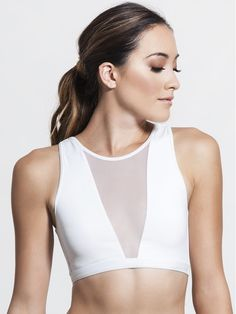 Terri Crop by VARLEY - SPORT BRAS & MEDIUM SUPPORT