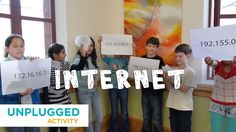 Activity idea by Code.org: Students act as fibre optic, DSL and wifi to understand how information is transferred and how likely these methods are to lose some information in the process.