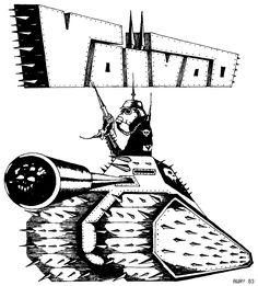 Old logo for Voivod.