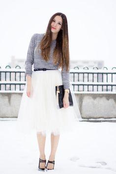 DIY Clothes DIY Refashion  DIY tulle skirt