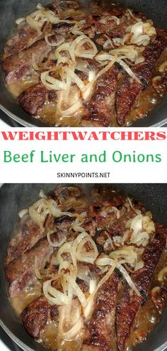 Liver Recipes, Ww Recipes, Drink Recipes, Amish Recipes, Beef Liver And Onions Recipe, Gravy For Mashed Potatoes, Onion Recipes, No Cook Meals, Health Foods