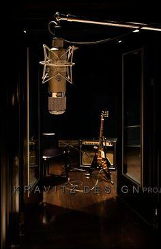 Setai Recording Studio - Designed by Lenny Kravitz | Leather & Porridge