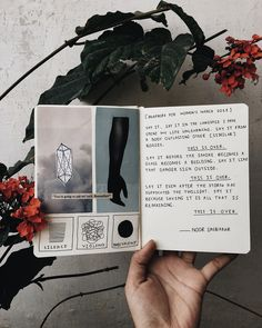 [Anaphora for Women's March 2018] art journal + poetry by Noor Unnahar || journaling craft diy notebook collage mixed media scrapbooking studyblr, words quotes writing handwritten, indie pale grunge tumblr hipsters aesthetic, creative instagram photography artists women writers of color ||