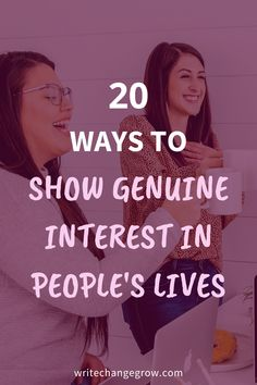 The people in our lives need to know that we genuinely care for them. Asking the right questions, listening to them when they answer are all important. Read 20 ways to show genuine interest in people's lives to help strengthen your relationships. Women Friendship, Friendship Quotes, Make Friends In College, Happy Facebook, Love Post, You Better Work, Self Acceptance, Contentment, Life Advice