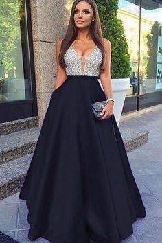 Beading Backless Prom Evening Dresses by MeetBeauty, $146.96 USD