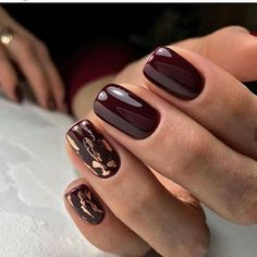 50 chic burgundy nail designs for winter 2019 # fashionlife # . - 50 chic burgundy nail designs for winter 2019 # fashionlife - Burgundy Nail Designs, Burgundy Nails, Winter Nail Designs, Nail Art Designs, Burgundy Color, Purple Nail, Nails Design Autumn, Beautiful Nail Art, Gorgeous Nails