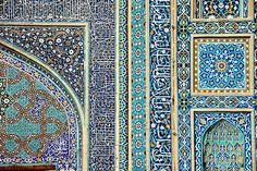 Tiles of Masjid-i Jami