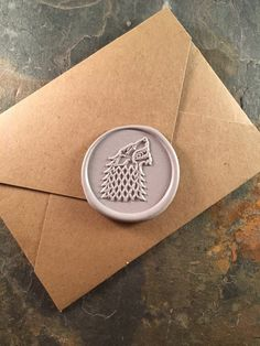 House Stark wax seal stickers