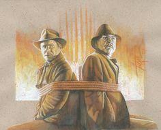 Indiana Jones & Henry Jones - Trevor Grove