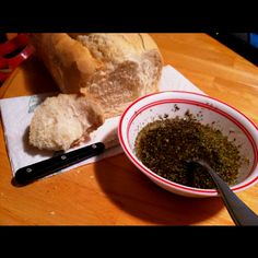 Carraba's Bread Dipping Oil Recipe. Even better if you add a little fresh-squeezed lemon juice!