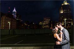 Anchor & Veil Photography | Charlotte, NC Wedding Photographers - MODERN ROMANTIC DOWNTOWN RALEIGH ENGAGEMENT SESSION - Anchor & Veil Photography | Charlotte, NC Wedding Photographers