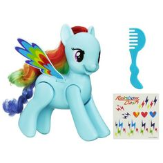 My Little Pony Flip and Whirl Rainbow Dash Pony Fashion Doll Pet