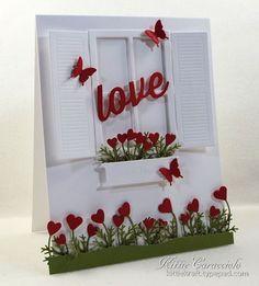 Valentine Window Scene
