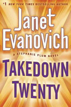 Takedown twenty by Janet Evanovich.  Click the cover image to check out or request the mystery kindle.