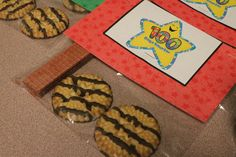 100 Days of School Cookies