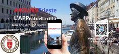 La prima App della città con il patrocinio del Comune www.aroundtrieste.it