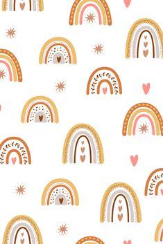 Phone Wallpaper Boho, Rainbow Wallpaper, Iphone Background Wallpaper, Aesthetic Iphone Wallpaper, Aesthetic Wallpapers, Pattern Wallpaper Iphone, Cute Wallpapers For Ipad, Pretty Wallpapers, Cute Patterns Wallpaper