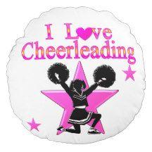 AWESOME CHEERLEADER ROUND PILLOW http://www.zazzle.com/mysportsstar/gifts?cg=196898030795976236&rf=238246180177746410   #Cheerleading #Cheerleader #Cheerleadinggifts #Cheerleadergift #loveCheerleading #BowtoToe