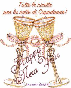 Ricette per la serata di Capodanno per festeggiare l'arrivo del nuovo anno con la speranza sia migliore di questo 2014! Ricette La cucina di ASI