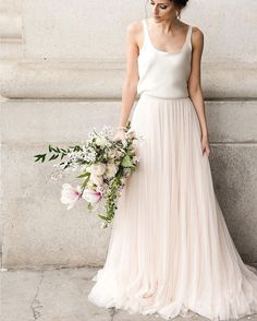 """BHLDN Weddings on Instagram  """"Upcoming City Hall nuptials  Don t miss out  on any of the romance   glamour with casual yet chic separates ... 42e4842949"""