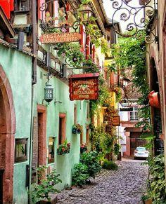 Alsace, France.  Photo by @esraksnk on instagram.
