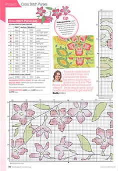 Cross Stitch World: Stitching style Flowers 2