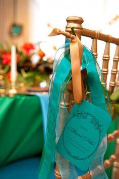 Chair Garland Tutorial- Elizabeth Anne Designs