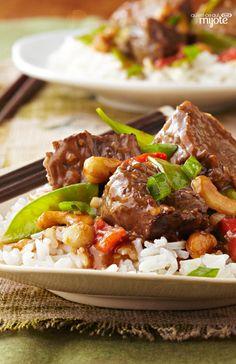 Bœuf asiatique à la mijoteuse #recette