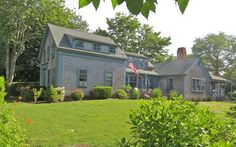 This grand Chatham Village family home is located in Chatham, right near the Lighthouse.This vintage antique house has 5 bedrooms, and a premier village location. Walk 3-5 minutes down the road to Lighthouse Beach, or walk 5-10 minutes to downtown Chatham.  Pretty Picky Properties 64-C in Chatham.