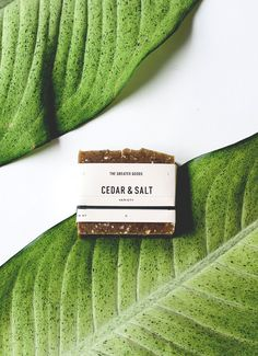 The Greater Goods // Cedar + Salt Soap . photography by Christine Han :: the-greater-goods.com